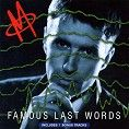 M - Famous Last Words (Download)