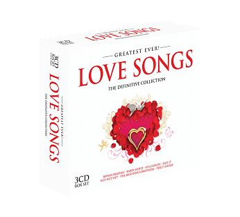 Various - Greatest Ever Love Songs (3CD) - CD