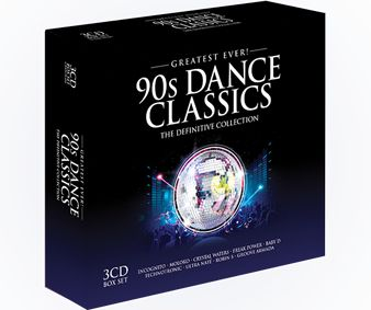 Various - Greatest Ever 90s Dance Classics (3CD) - CD