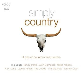 Various - Simply Country (4CD) - CD