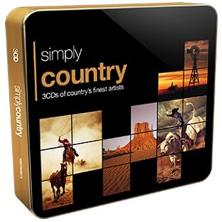 Various - Simply Country (3CD) - CD