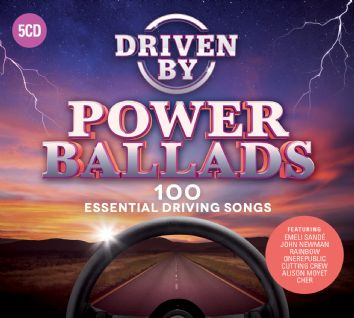 Various - DRIVEN BY POWER BALLADS (5CD) - CD