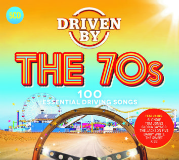 Various Artists - DRIVEN BY THE 70s (5CD) - CD