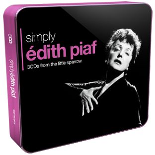 Edith Piaf - Simply Edith Piaf  (3CD) - CD