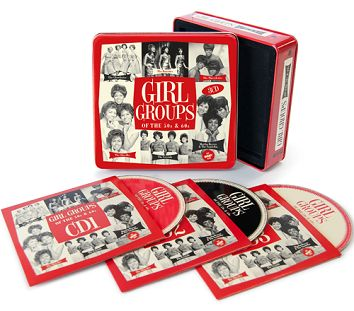 Various - Girl Groups Of The 50s & 60s (3CD Tin & Download) - CD