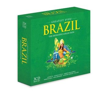 Various - Greatest Ever Brazil (3CD) - CD