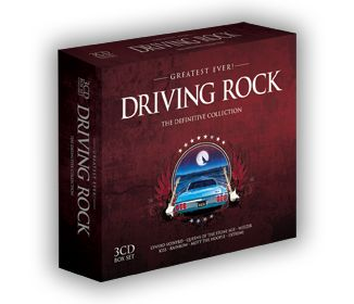 Various - Greatest Ever Driving Rock (3CD) - CD