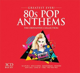 Various - Greatest Ever 80s Pop Anthems (3CD) - CD