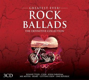 Various - Greatest Ever Rock Ballads (3CD) - CD