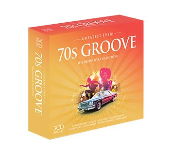 Various - Greatest Ever - 70s Groove (3CD) - CD