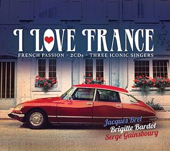 Various - I Love France (2CD) - CD