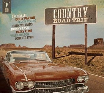 Various - Country Road Trip (2CD) - CD