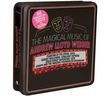 Andrew Lloyd Webber - The Magical Music Of Andrew Lloyd Webber (3CD Tin) - CD