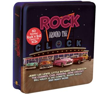 Various - Rock Around The Clock (3CD Tin) - CD