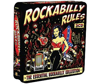 Various - Rockabilly Rules (3CD Tin) - CD