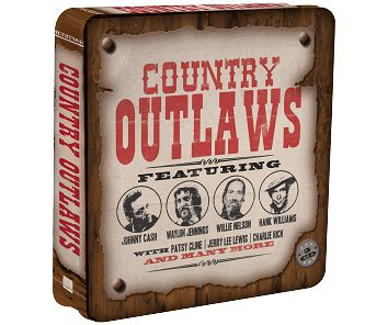 Various - Country Outlaws (3CD Tin) - CD