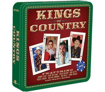 Various - Kings Of Country <br>(3CD Tin) - CD