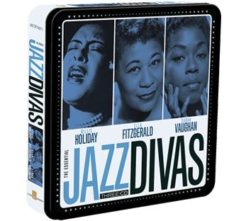 Various - Billie Holiday, Ella Fitzgerald, Sarah Vaughan (3CD Tin) - CD