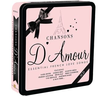 Various - Chansons D'Amour (3CD Tin) - CD