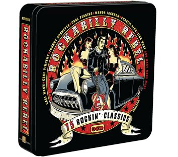 Various - The Rockabilly Rebel (3CD Tin) - CD