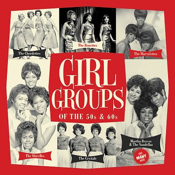 Various - Girl Groups of the 50s & 60s  (Download) - Download