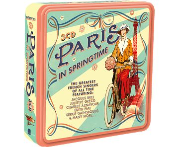 Various - Paris In Springtime (3CD) - CD