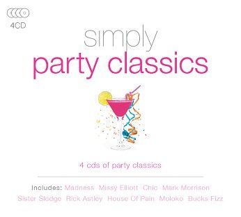 Various - Simply Party Classics (4CD) - CD