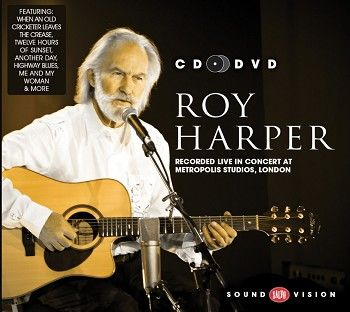 Roy Harper - Recorded live in concert at Metropolis Studios, London<br> (CD+DVD / Download) - CD