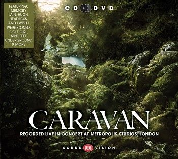 Caravan - Recorded live in concert at Metropolis Studios, London (CD+DVD / Download) - CD
