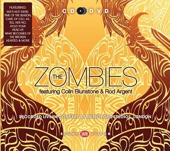 The Zombies feat. Colin Blunstone & Rod Argent - Recorded live in concert at Metropolis Studios, London (CD+DVD / Download) - CD