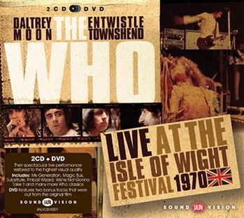 The Who - Live At The Isle Of Wight Festival 1970 (2CD+DVD) - CD