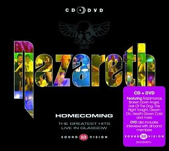 Nazareth - Homecoming (CD+DVD) - CD