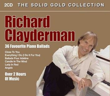 Richard Clayderman - The Solid Gold Collection (2CD) - CD