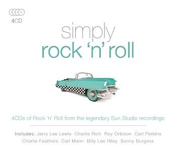 Various - Simply Rock N Roll  (4CD) - CD