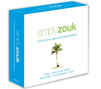 Various - Simply Zouk (4CD / Download) - CD