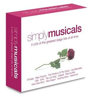 Various - Simply Musicals (4CD) - CD