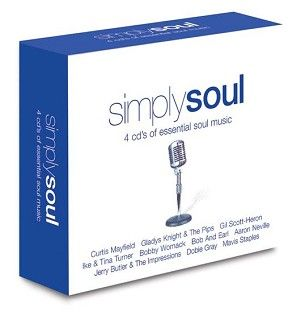 Various - Simply Soul (4CD) - CD