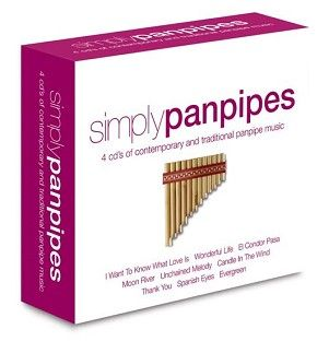 Various - Simply Panpipes (4CD) - CD