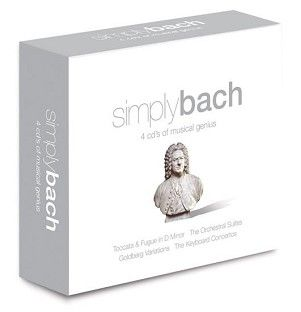 Various - Simply Bach (4CD) - CD
