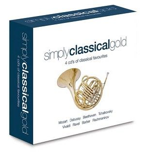 Various - Simply Classical Gold (4CD) - CD