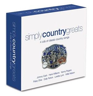 Various - Simply Country Greats (4CD) - CD