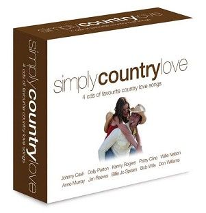 Various - Simply Country Love (4CD) - CD