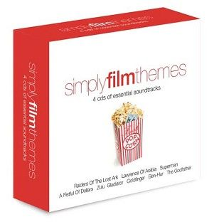 Various - Simply Film Themes (4CD) - CD