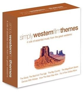 Various - Simply Western Film Themes (4CD) - CD
