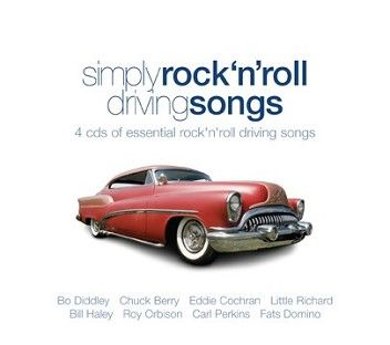 Various - Simply Rock & Roll Driving Songs (4CD) - CD