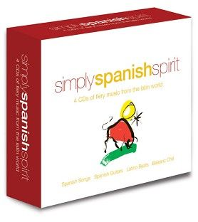 Various - Simply Spanish Spirit (4CD) - CD