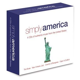 Various - Simply America (4CD) - CD