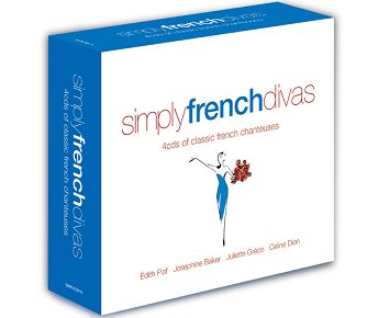 Various - Simply French Divas (4CD) - CD