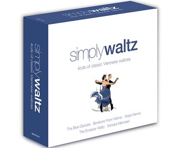 Various - Simply Waltz (4CD) - CD