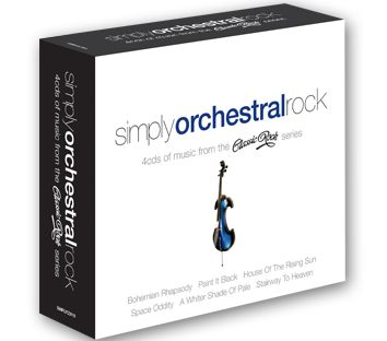 Various - Simply Orchestral Rock (4CD) - CD